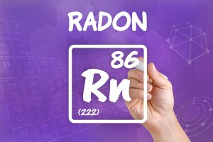 Radon naturally occurs through many places in the U.S.